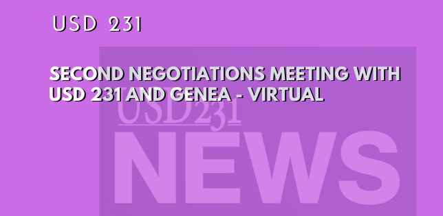Second Negotiations Meeting Live Stream