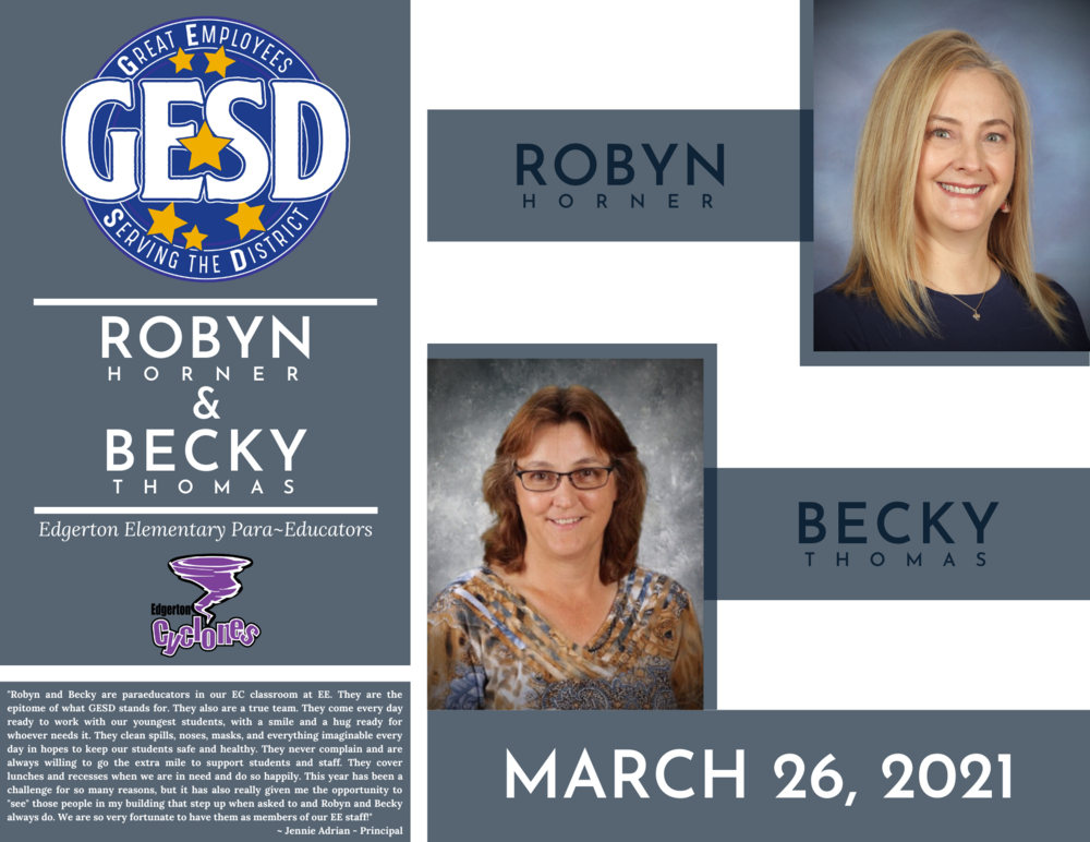GESD Recognition (March 26, 2021)