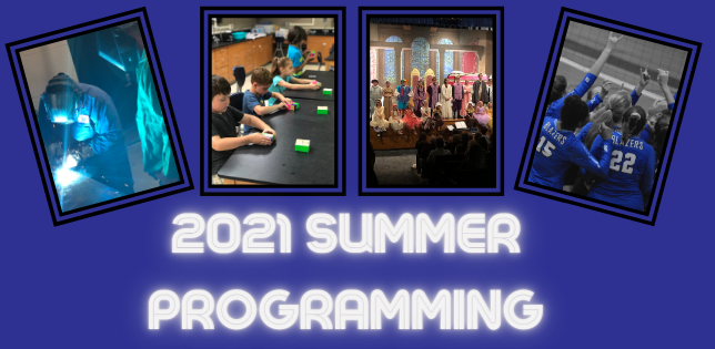 2021 Youth & Adult Summer Programming