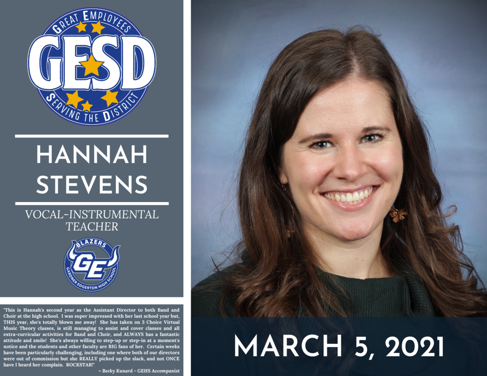 GESD Recognition (March 5, 2021)