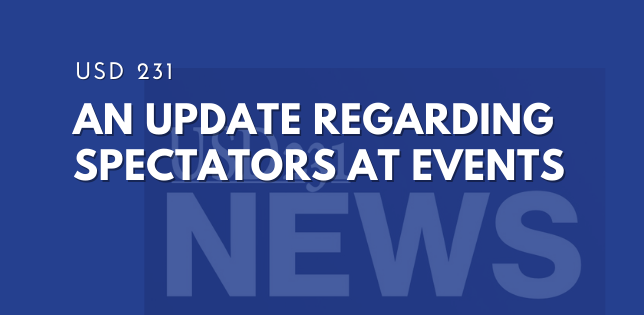 Update Regarding Spectators