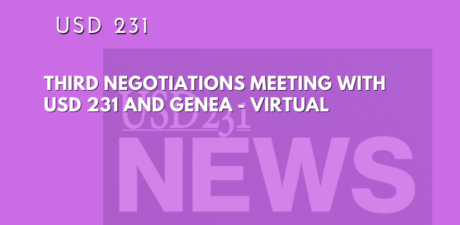 Third Negotiations Meeting Live Stream