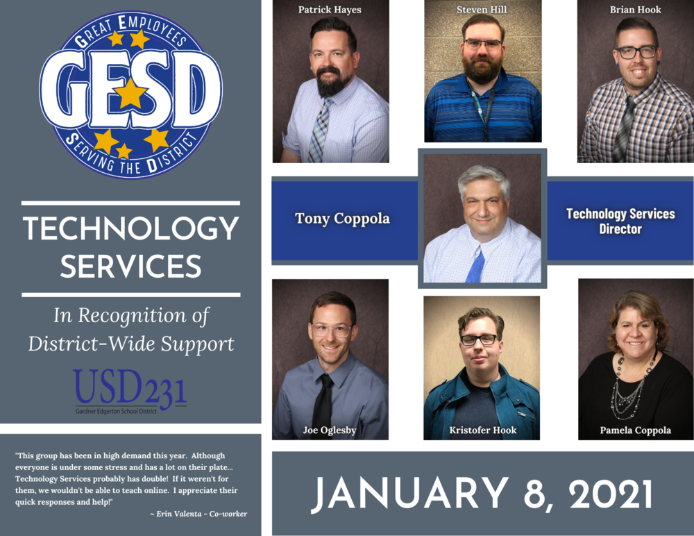 GESD Recognition (January 8,  2021)