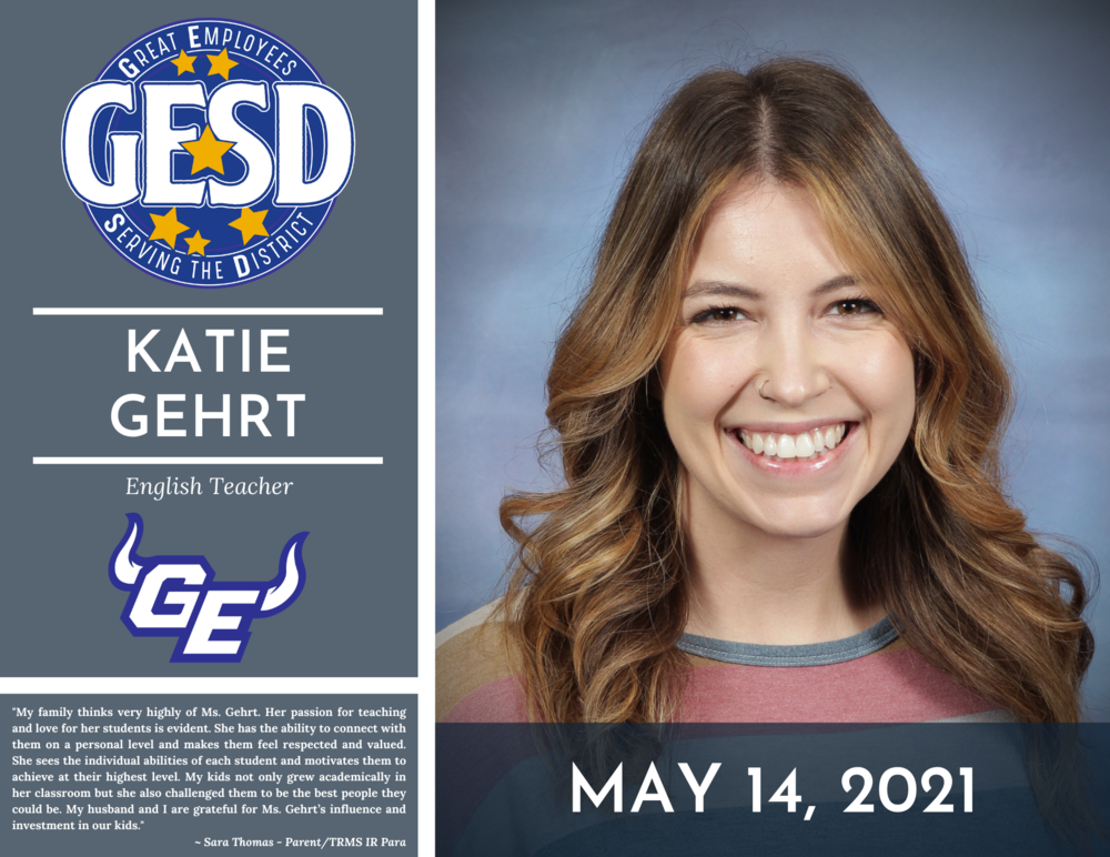 GESD Recognition (May 14, 2021)
