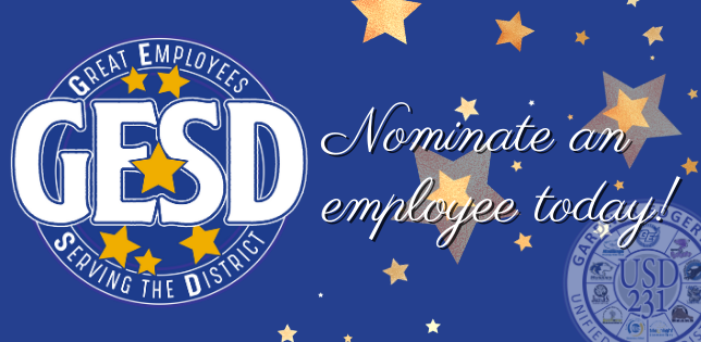 USD 231 Announces Staff Recognition Program
