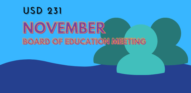 UPDATED - November Board of Education Meeting