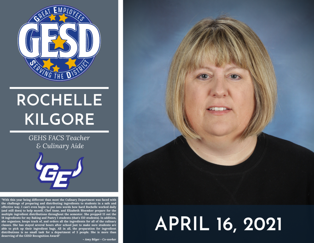 GESD Recognition (April 16, 2021)