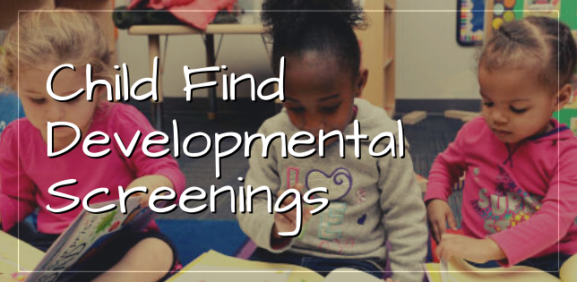 Child Find Developmental Screenings