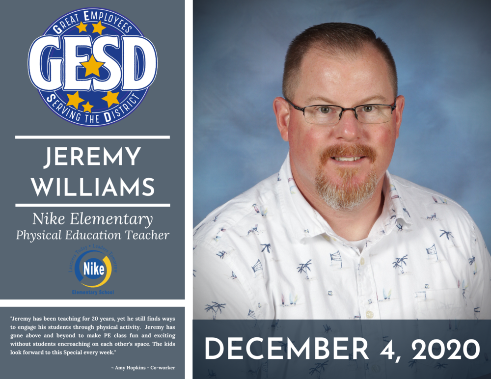 GESD Recognition (December 4, 2020)