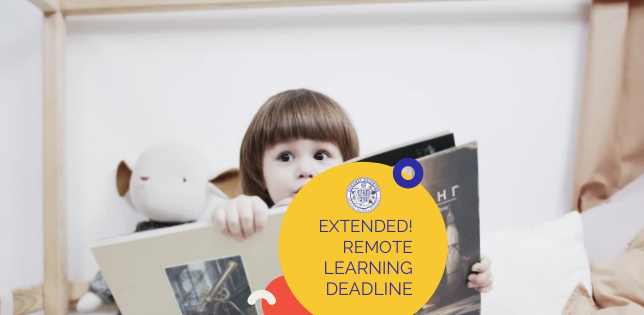 Remote Learning Deadline Extended