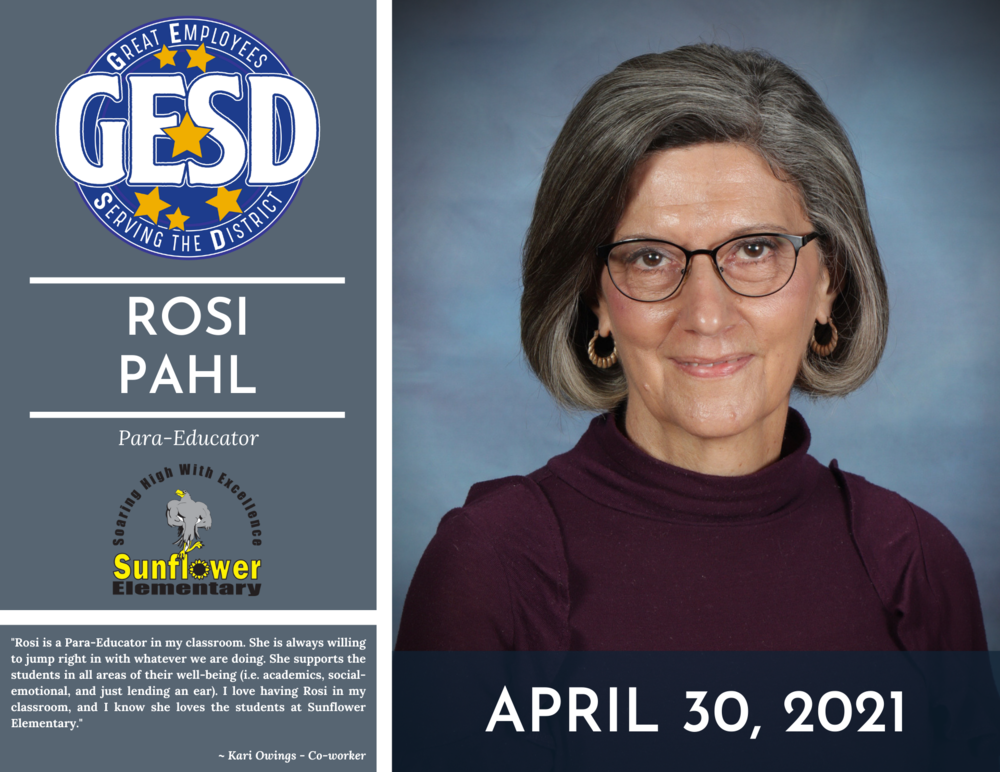 GESD Recognition (April 30, 2021)