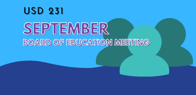 September Board of Education Meeting