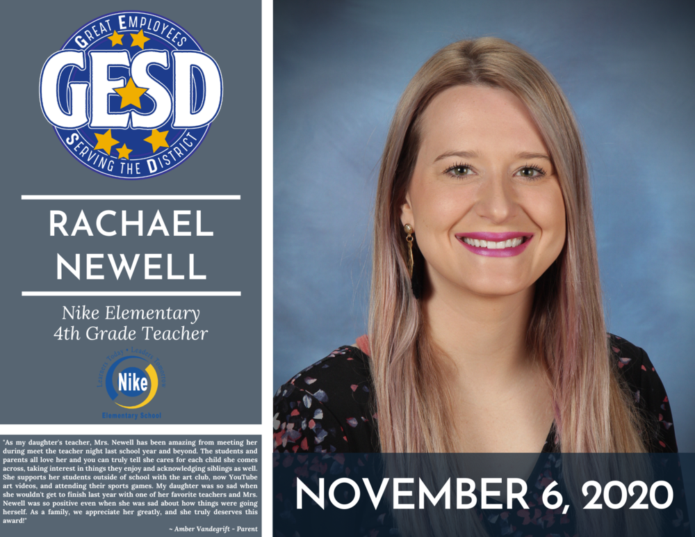GESD Recognition (November 6, 2020)