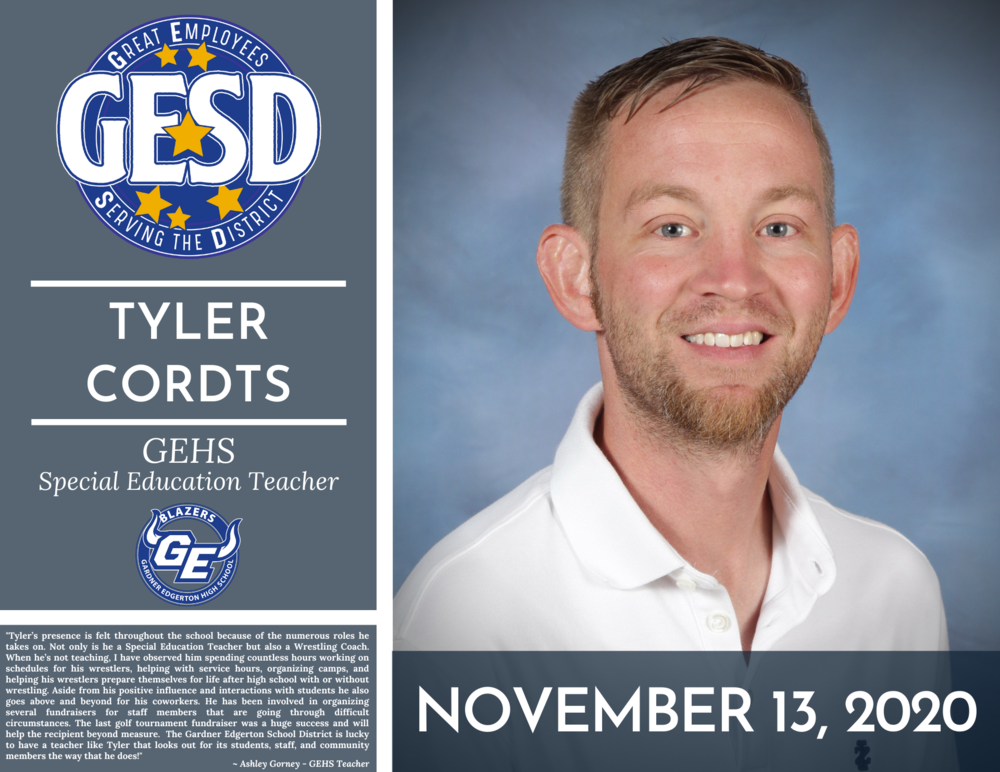 GESD Recognition (November 13, 2020)