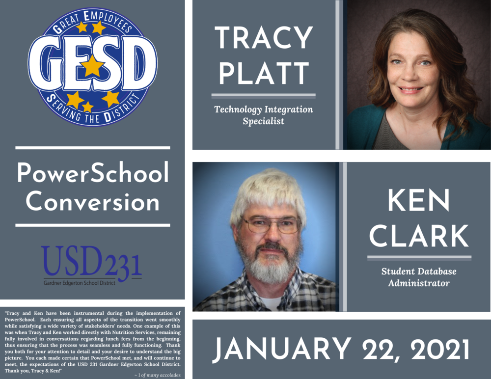 GESD Recognition (January 22, 2021)