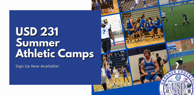 Summer Athletic Camps Sign Up Now Available