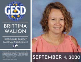 GESD Recognition - September 4, 2020