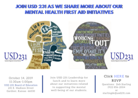 USD 231 Invites Business Leaders for Mental Health Support