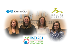Holmes Murphy and BCBS of KC Invest In USD 231 Students