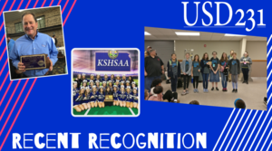 USD 231 Recent Staff and Student Recognition