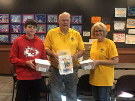 Gardner Lions Club Donates Diabetic Kits