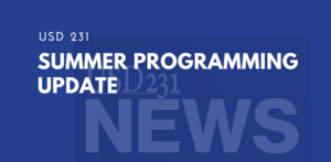 Summer Programming Update