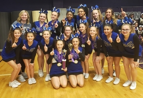 WMS Cheer Squad Receives High Awards