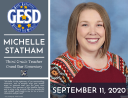GESD RECOGNITION - SEPTEMBER 11, 2020