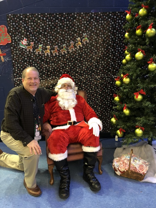 Santa at MLE Winter Fun Fest