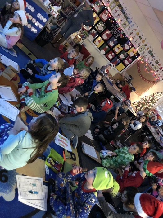 Kindergarten Polar Express Party