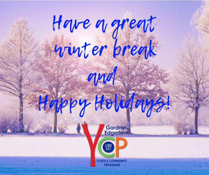 Happy Holidays from GEYCP