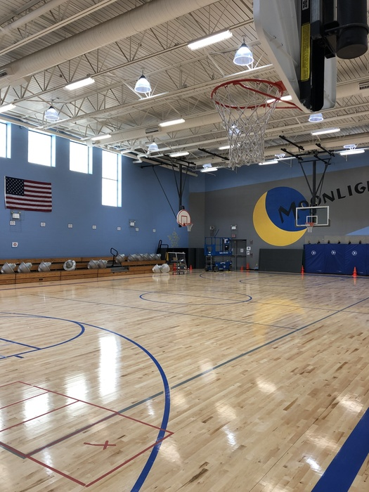New gym lights installed and working.