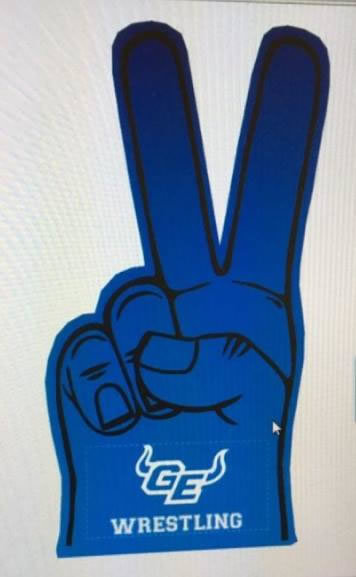Wrestling Foam Finger