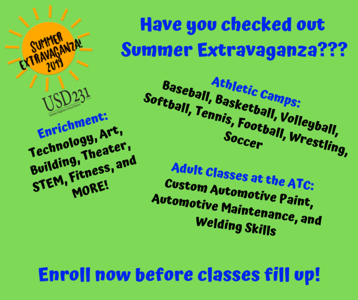 Summer Courses Promotion