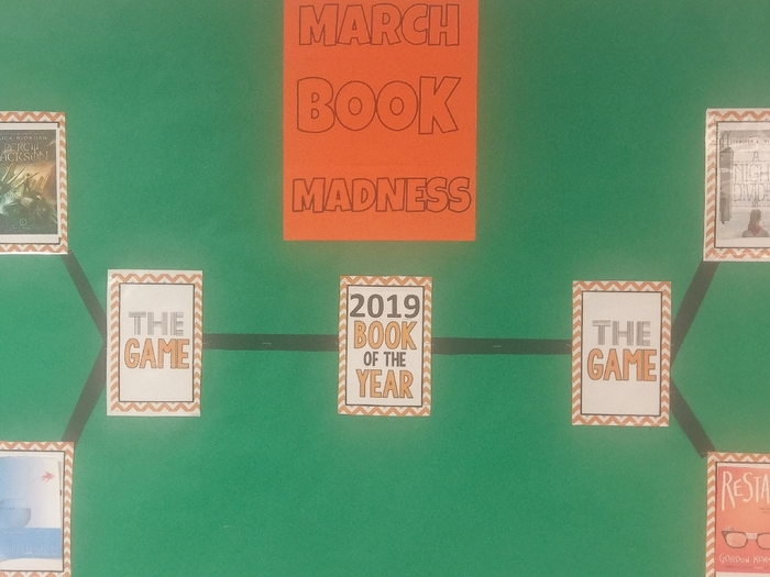 March Book Madness at WMS
