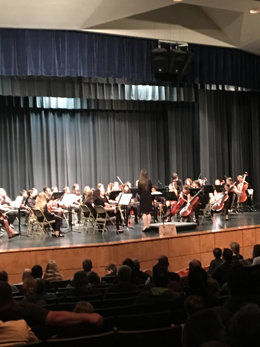 5th orchestra on stage.