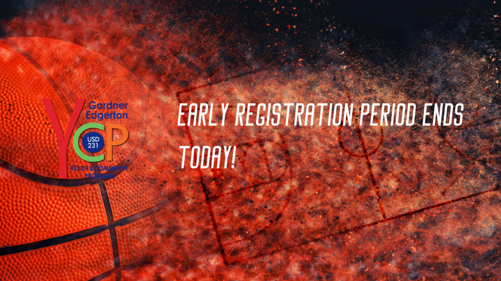 Early Registration Ends