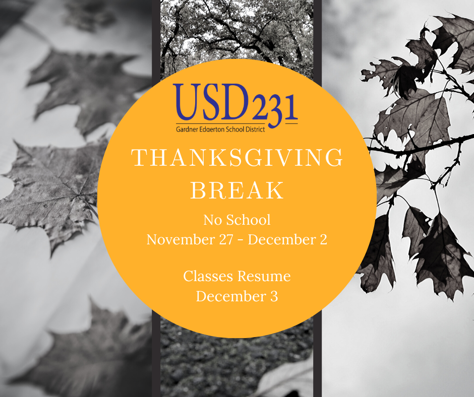 Thanksgiving Break Graphic