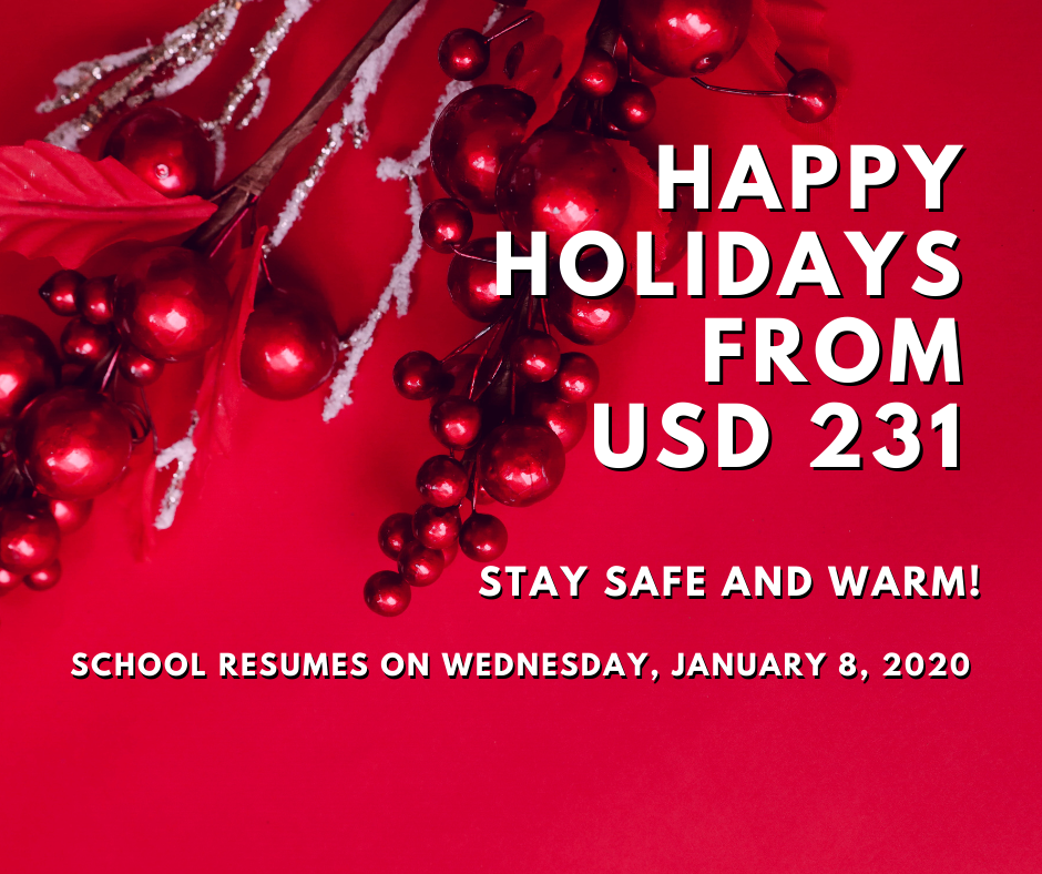 Happy Holidays from USD 231