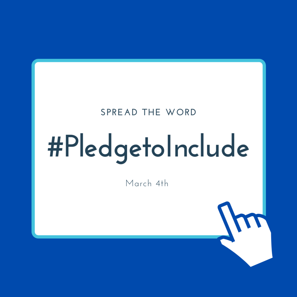 #PledgetoInclude
