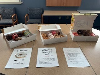 Donuts for staff