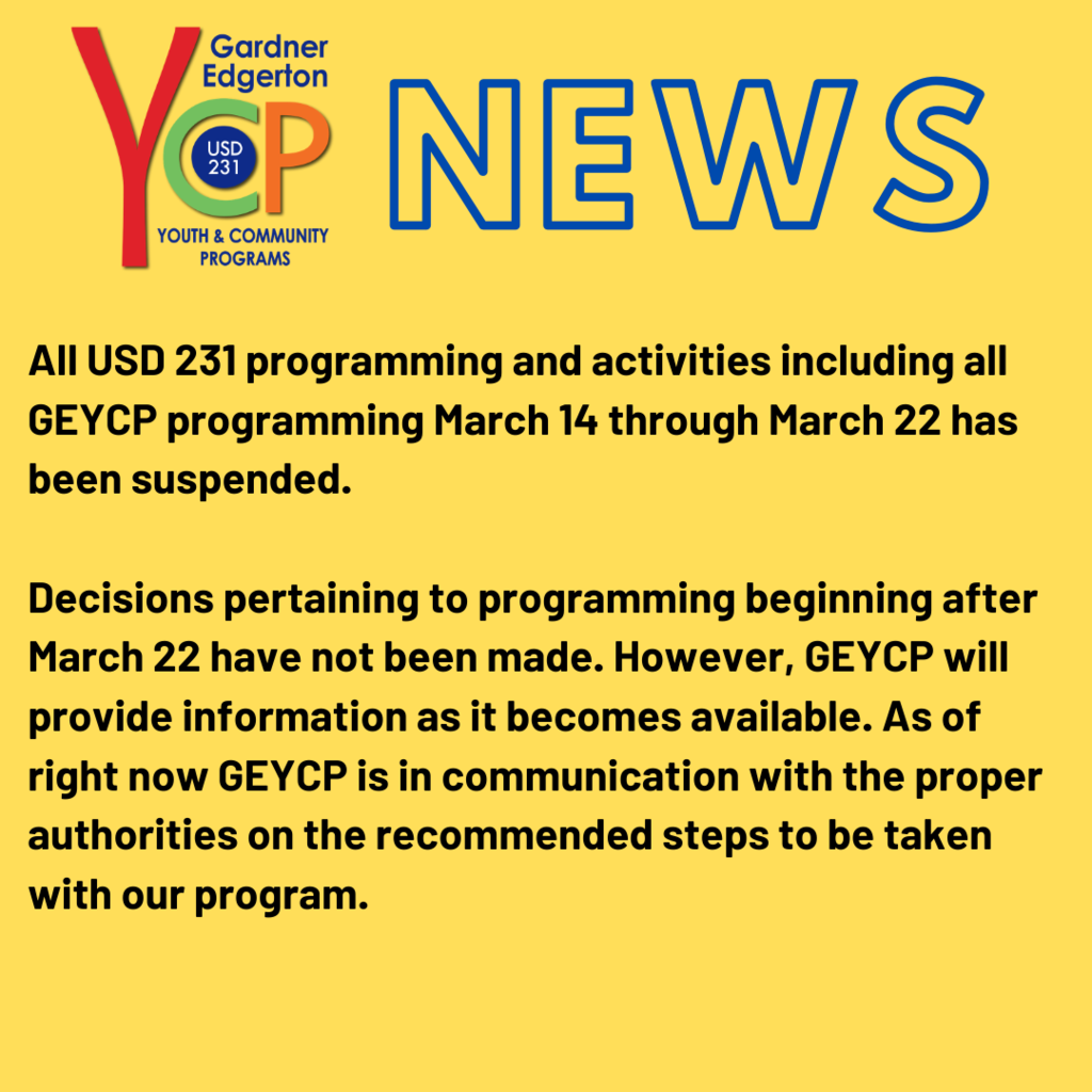 GEYCP Update on Programming